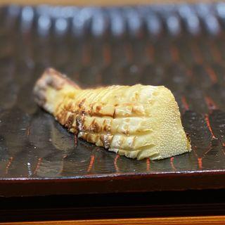 新竹の子の塩焼き(鮨旬美西川)