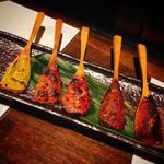 焼き味噌五種