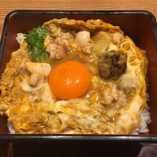 親子丼(鴨と醸し 鼓道)