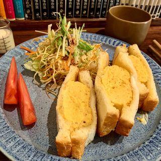 タマゴサンドセット(cafe zuccu (カフェ ズック))