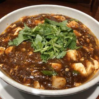 パクチー麻婆麺(SHIBIRE-NOODLES 蝋燭屋)