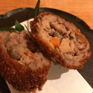 ラム肉とクミンのメンチカツ(2ヶ)(ニューマルコ)