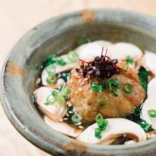 ラム肉とレンコンの揚げまんじゅう(ニューマルコ)