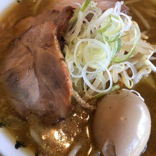味噌ラーメン+味玉(麺組)
