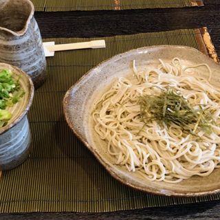 もり蕎麦 大盛り(そば処 なかむら )