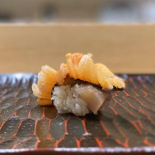 赤貝(鮨旬美西川)