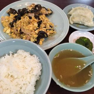 木くらげ玉子炒めライス(長崎飯店 高田馬場駅前店 (ナガサキハンテン))