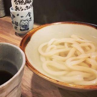 釜あげ(うどん酒場 でべそ)
