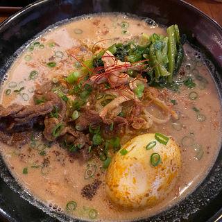 味玉九龍担々麺(スパイス飯麺 兄弟舎)