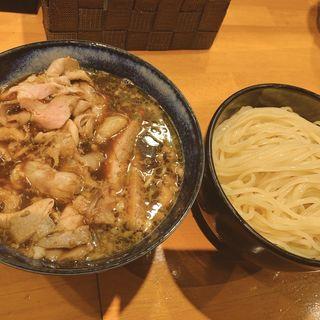 醤油馬鹿つけ麺、肉増し(ラーメン坊也哲 )