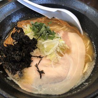 濃鶏麺(醤油)(濃麺 海月 (コイメン クラゲ))