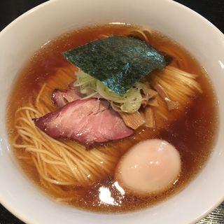 味玉ソバ(醤油)