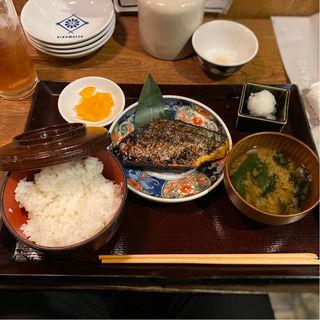 サワラの西京焼き定食(菊松食堂)