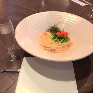 明太子のおうどん(つるとんたん UDON NOODLE Brasserie  )