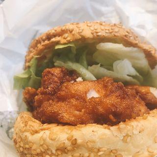 チャイニーズチキンバーガー(ラッキーピエロ 函館駅店)