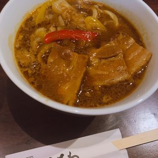 黒豚カレー南蛮(くろさわ (うどんくろさわ))
