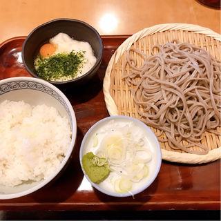 ランチセット(とろろご飯)(真希 六本木一号店 (しんき))
