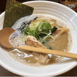 鶏白湯ラーメン(塩そば 加とう)