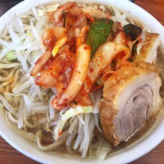 ぶた入り小ラーメン(ラーメン二郎 亀戸店 (らーめんじろう))
