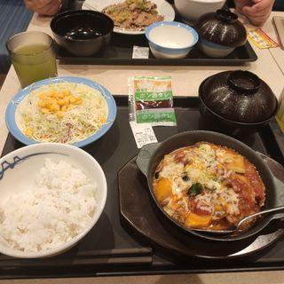カチャトーラ定食(松屋 野並店 )