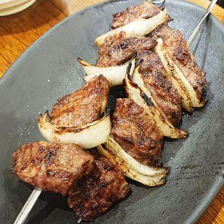 牛カルビ串(ぶっちぎり酒場 鶴見店 )