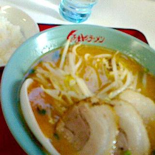 味噌チャーシューメン(くるまやラーメン 仙台原町店 )