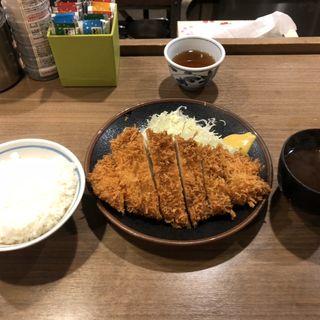 ロースカツ定食(はしや 馬喰町店)