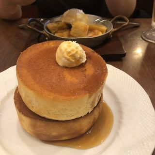 窯焼きスフレパンケーキ ダブル(星乃珈琲店 109MEN'S店 )