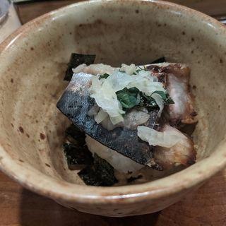 焼きサバお茶漬け(鮨 波づき)