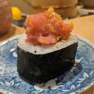 鉄火巻き(鮨 波づき)
