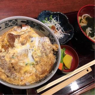 いも豚カツ丼定食(兎屋 小川町店 )