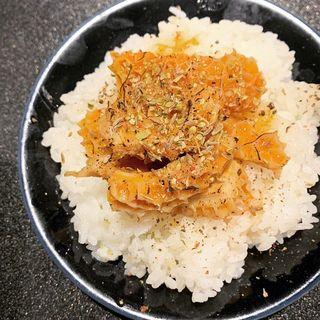 トリッパトマト煮ごはん(Japanese Soba Noodles 蔦)