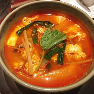 ユッケジャン麺(叙々苑 池袋サンシャイン通り店 (ジョジョエン))