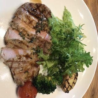 松阪ポークのグリル(Chef's lunch)(セストセンソ 新宿タカシマヤ店 )