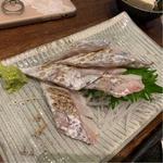 刺身 太刀魚炙り(めしや 大磯港)