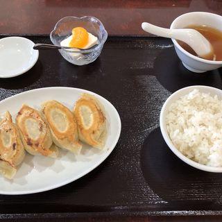ぎょうざ定食(独一処餃子 行徳店 )