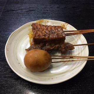 味噌おでん(1本)(山汁らーめん)