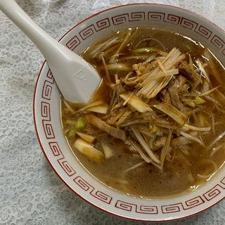 ネギ麺(ネギソバ)(新宮亭 )