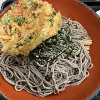 ざる蕎麦&かき揚げ(君塚 池袋店 )