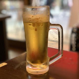 生ビール(かつ次郎)