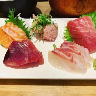 本日のお刺身定食(おさかなキッチン(阪急梅田駅構内))