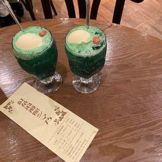 クリームソーダ(紅茶浪漫館シマ乃)
