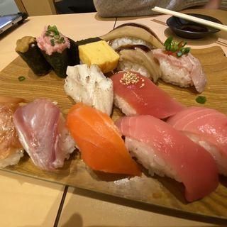食べ放題(雛鮨 ヤマダ電機LABI1日本総本店 池袋 (高級寿司食べ放題))