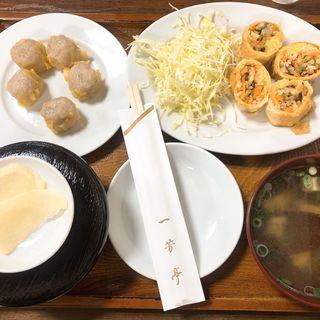 春巻定食(一芳亭 船場店 (イッポウテイ))