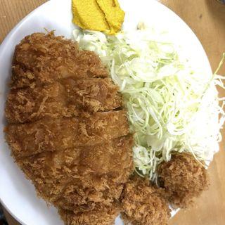 ロースカツ定食(山家 御徒町店)