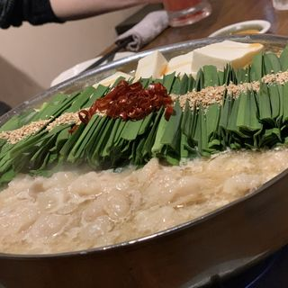 もつ鍋 白味噌(もつ鍋 こうづき 大名店)