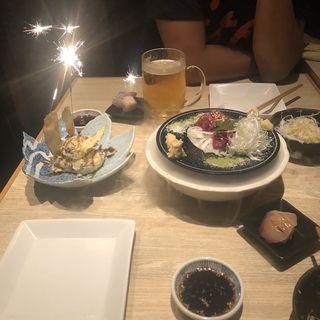 ポテトサラダ(焼鳥 大自然 西中洲店)