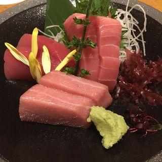 マグロ3種盛り(日本海庄や 鶴見西口店 )