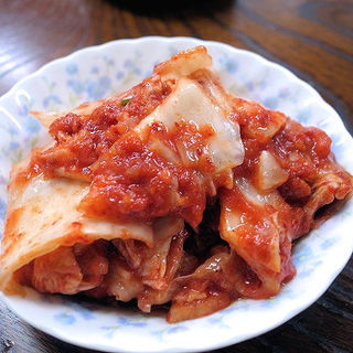 白菜キムチ(韓国家庭料理 漢陽)