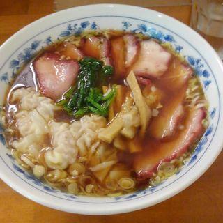 叉焼ワンタンメン(下前商店)